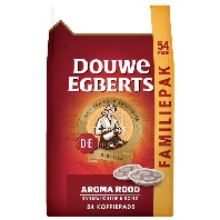 D.E. kaffeepads Aroma Rot, ROOD 1x54 pads