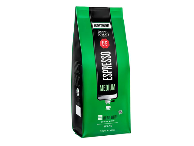 Douwe Egberts Espresso Bohnen Medium Roast (1000gr)