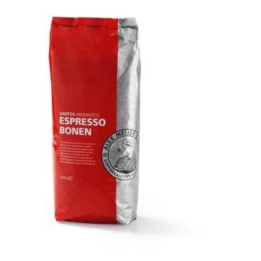 Alex Meijer kaffeebohnen 1000 gr.Santos aromatico(mild)