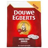 D.E. kaffeepads Aroma Rot, DONKER 1x36 pads