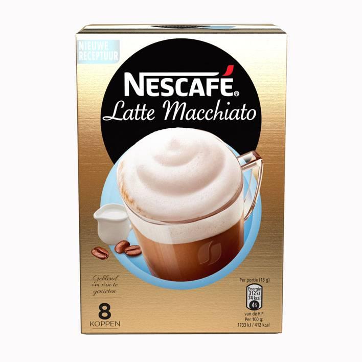 Nescafé Latte Macchiato (8 Beutel)