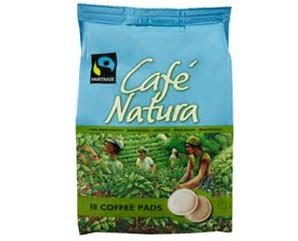 """54 biologische / Fairtrade Kaffeepads """"Café Natura"""" (3x18)"""