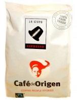 15 Café de Origen Espresso Kaffeekapseln