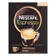 Nescafé Espresso Instantkaffee (25 Sticks)