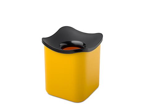 Mepal Tisch Abfallbehälter cube -Gelb