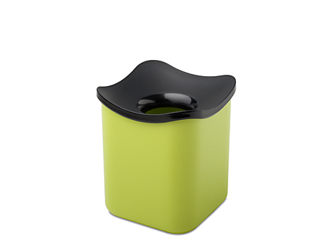 Mepal Tisch Abfallbehälter cube - lime