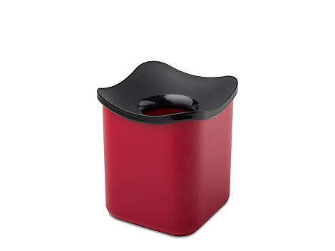 Mepal Tisch Abfallbehälter cube -Rot