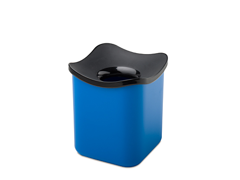 Mepal Tisch Abfallbehälter cube - sky Blau