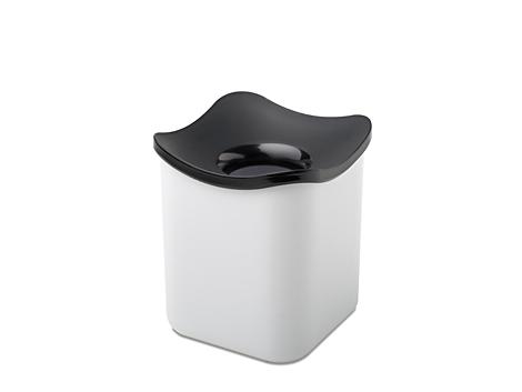 Mepal Tisch Abfallbehälter cube -Weiss