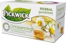 Entspanung, Kamilletee mit Honiggeschmack von Pickwick Teebeutel (1x20)