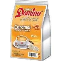 NEU 18 Domino kaffeepads, Karamell