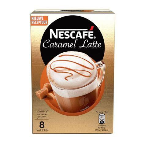 Nescafé Latte Caramel (8 Beutel)