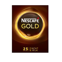 Nescafé GOLD Instantkaffee (25 Sticks)