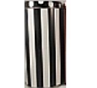 Kaffeepaddose Streifen/Punkte in braun (18 Pads)