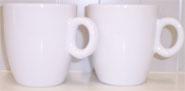 2 Tassen: Weiß für Senseo Kaffee  (165ml)